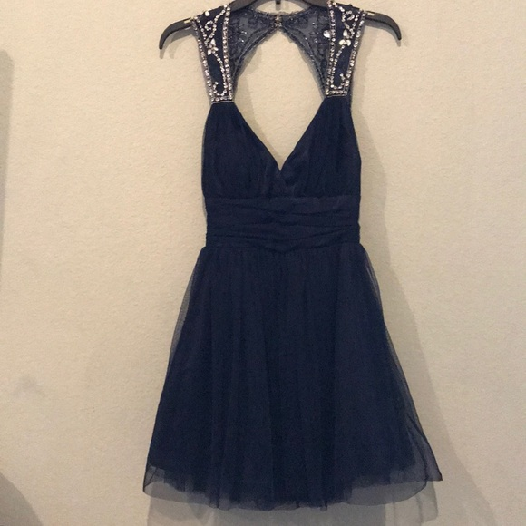 Camille La Vie Dresses & Skirts - Camille Navy formal dress
